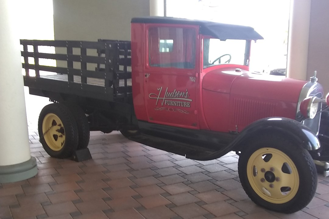 1929 Ford AA truck located at the Pinellas Park Location