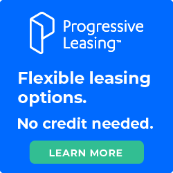 Progressive Leasing | Flexible leasing options. No credit needed. | Learn More