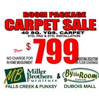 Room Package Carpet Sale