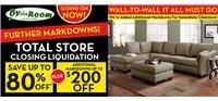 Further Markdowns Liquidation Sale