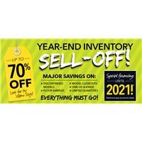 Year End Inventory Sell Off