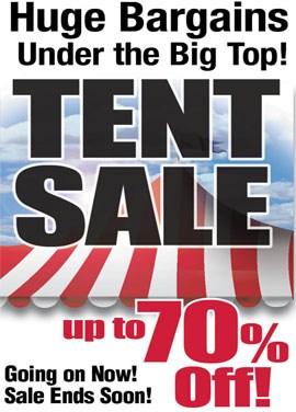 Huge Bargains Under the Big Top!