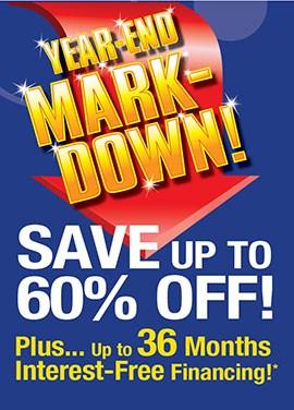 Massive Year-End Mark Down!