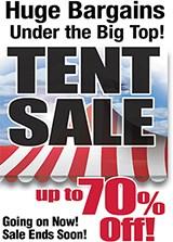 Tent Sale!