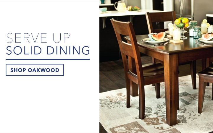 Serve Up Solid Dining: From Traditional To Modern, Oakwood Offers The  Finest Wood Finishes