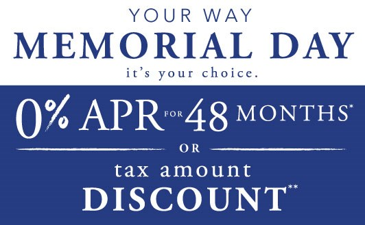 Have it Your Way Memorial Day