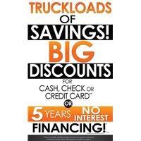 Truckloads of Savings