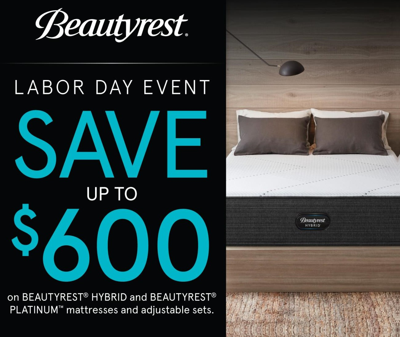 Beautyrest save up to $600!!!
