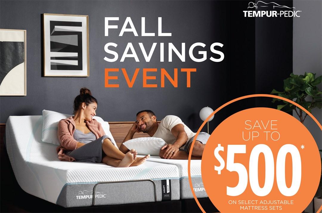 Tempur-Pedic Limited Time Savings!