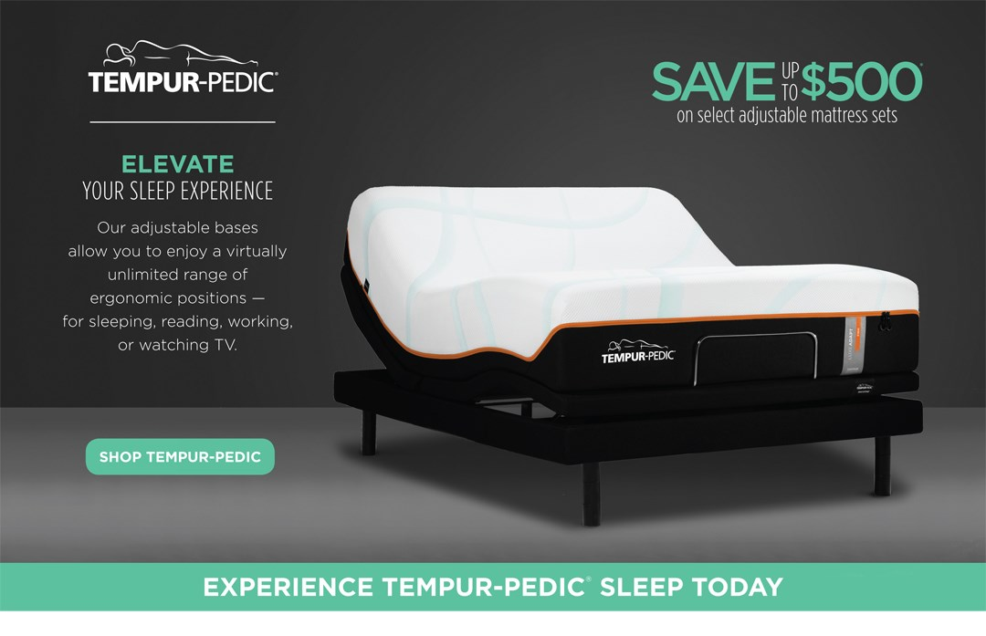 Tempur-Pedic Limited Time Savings!
