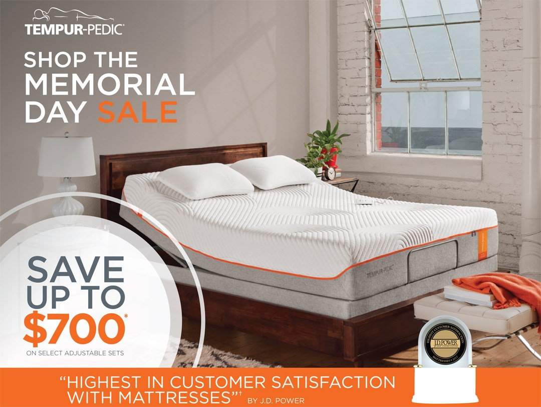 Tempur-Pedic Save up to $800!