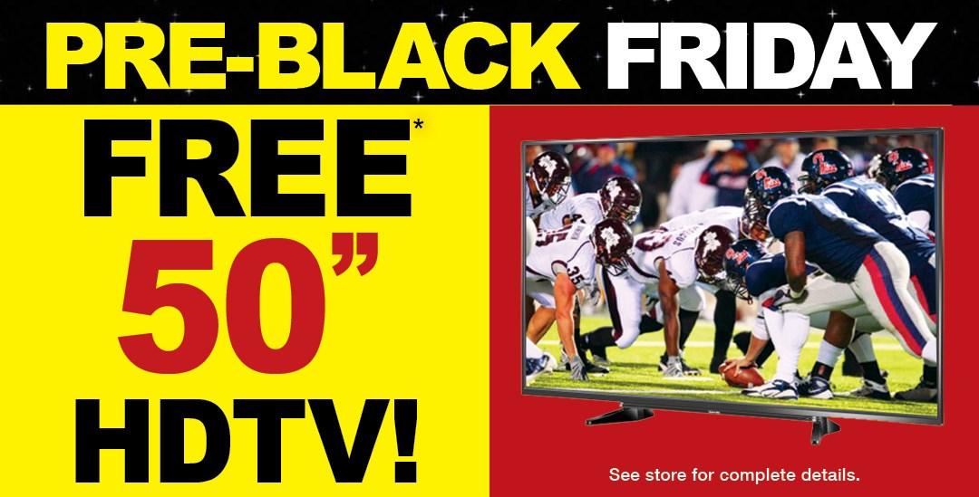 Pre-Black Friday TV