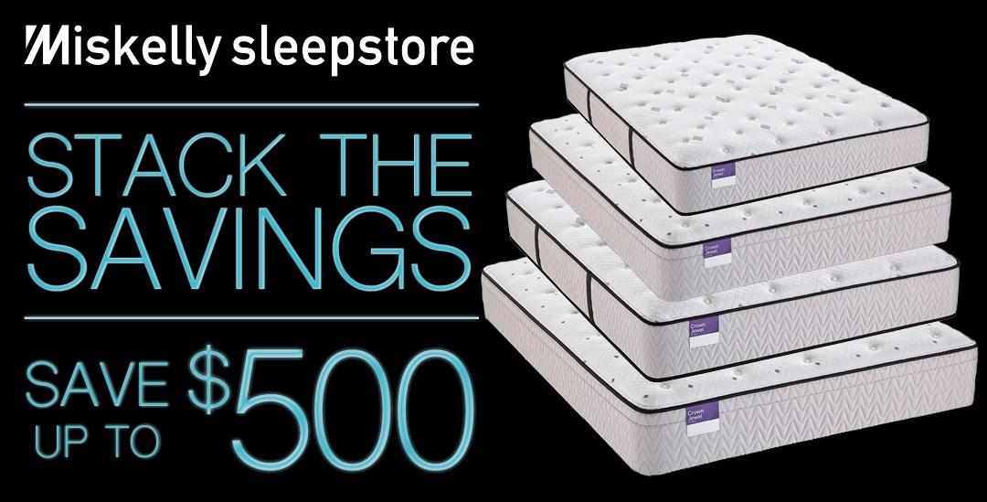 Sleepstore Stack the savings