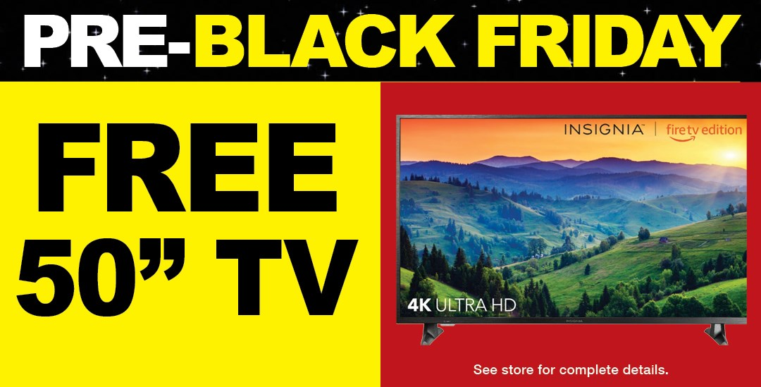 Pre-Black Friday TV