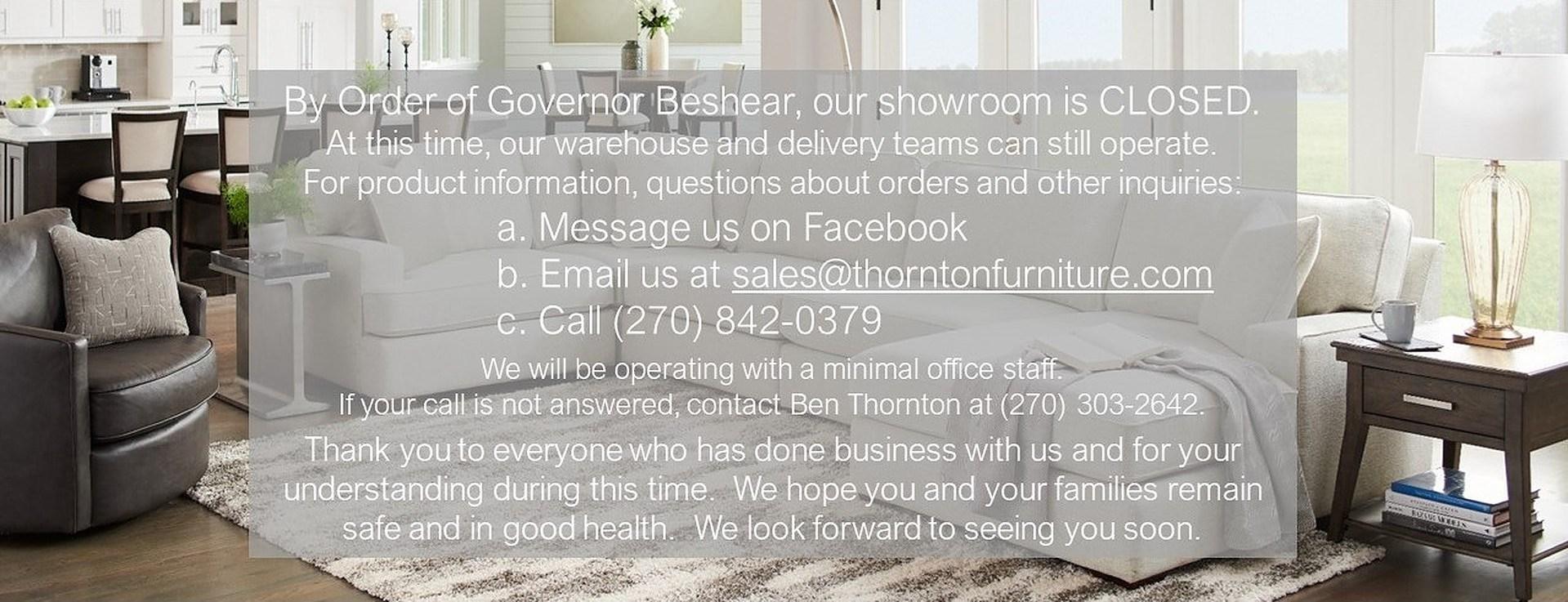 Governor Closing