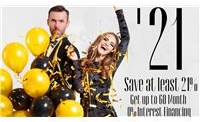save 21% or more, New Year New Room