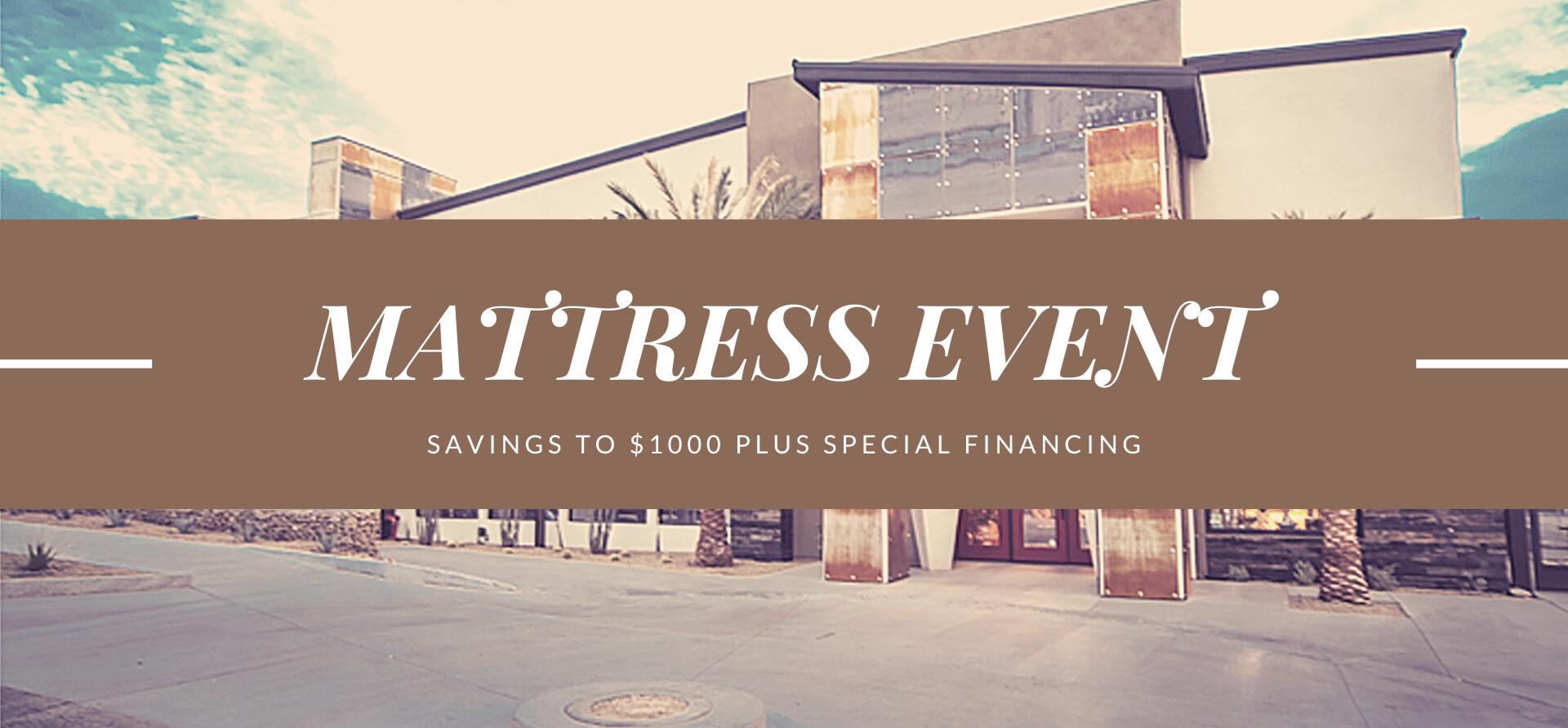 Mattress Event