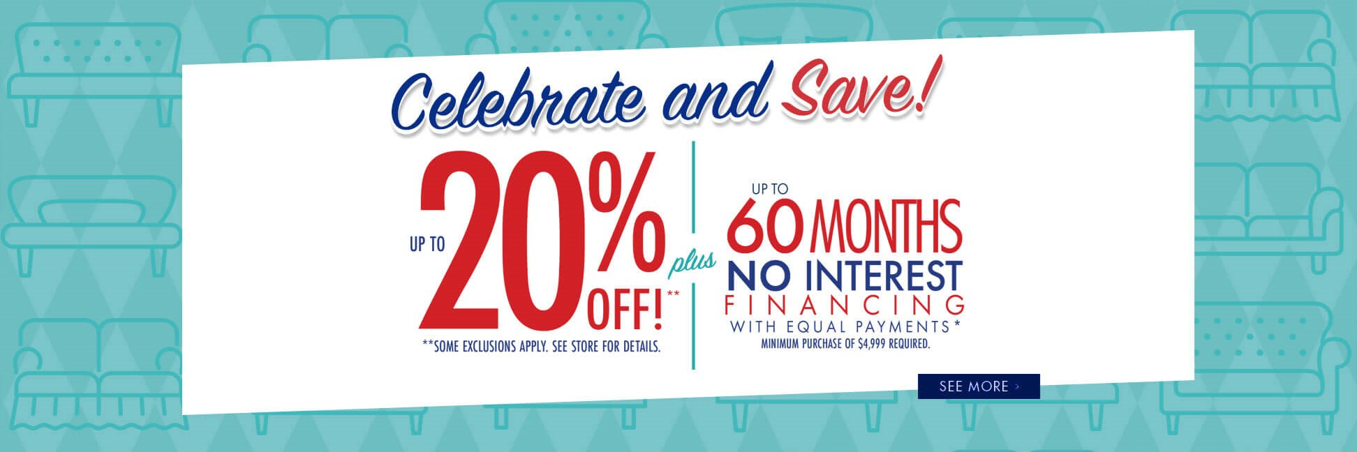 Celebrate and Save!