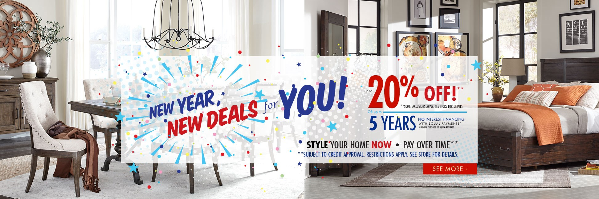 New Year New Deals For You!