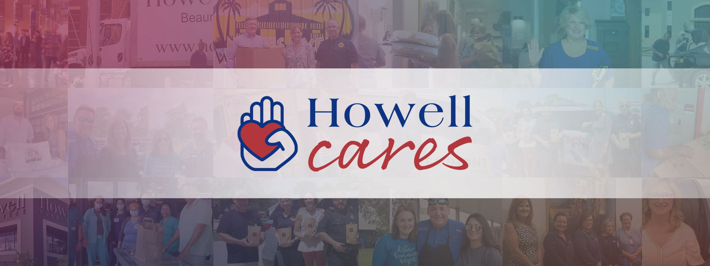 howells cares, scroll to learn more
