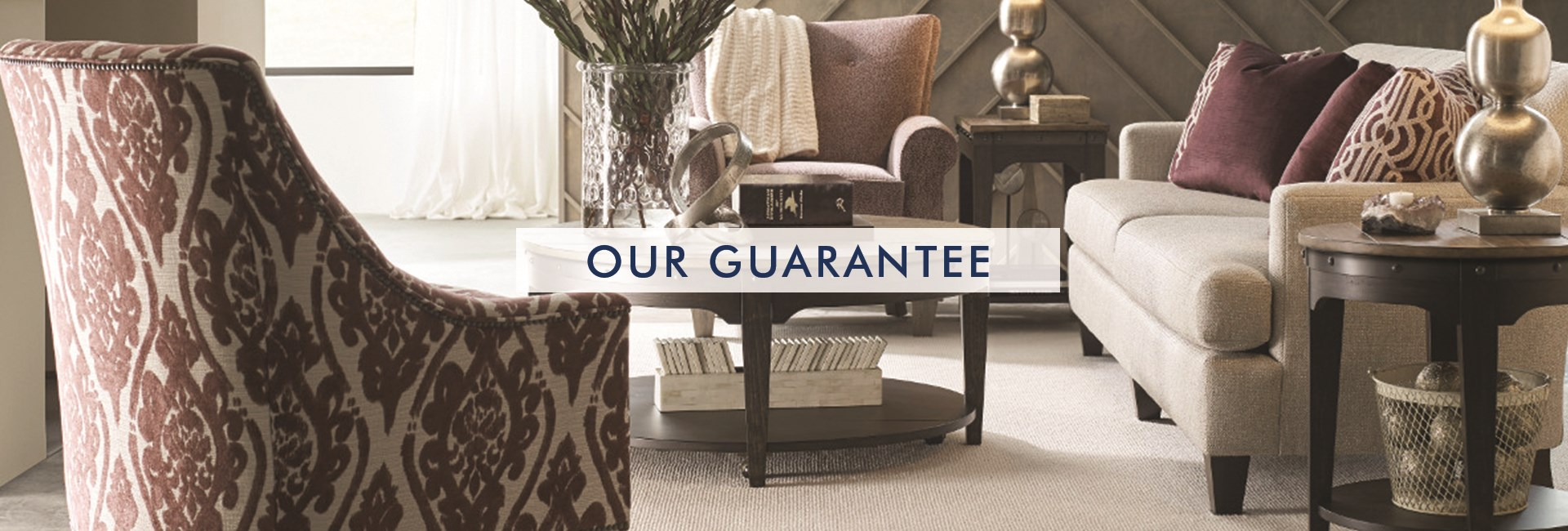 our guarantee scroll down to learn more