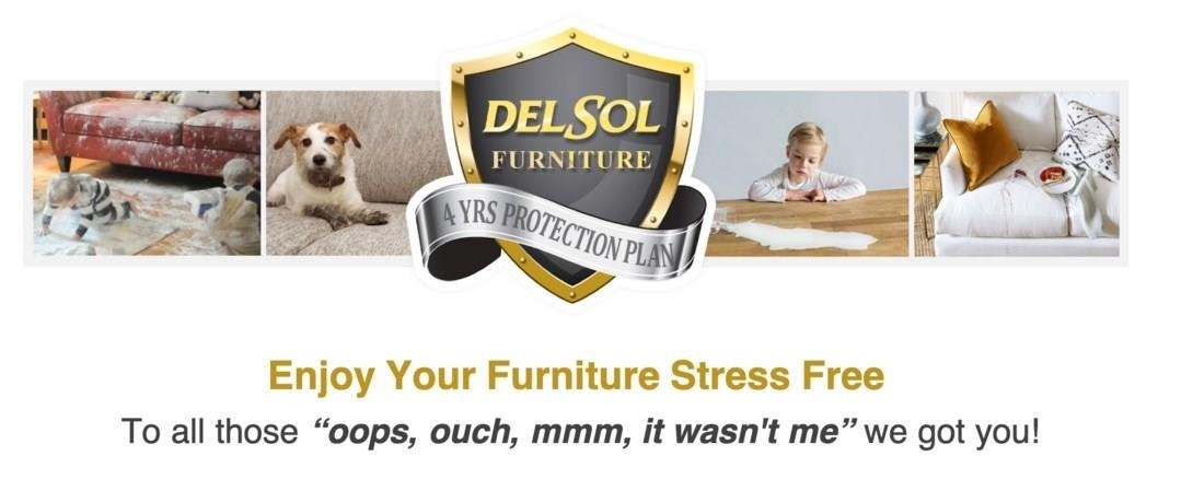 del sol 4 years protection plans, enjoy your furniture worry free