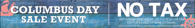 Del Sol Furniture Columbus Day Sale