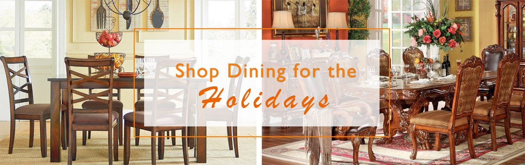 Shop Dining Room Furniture for the Holiday Season