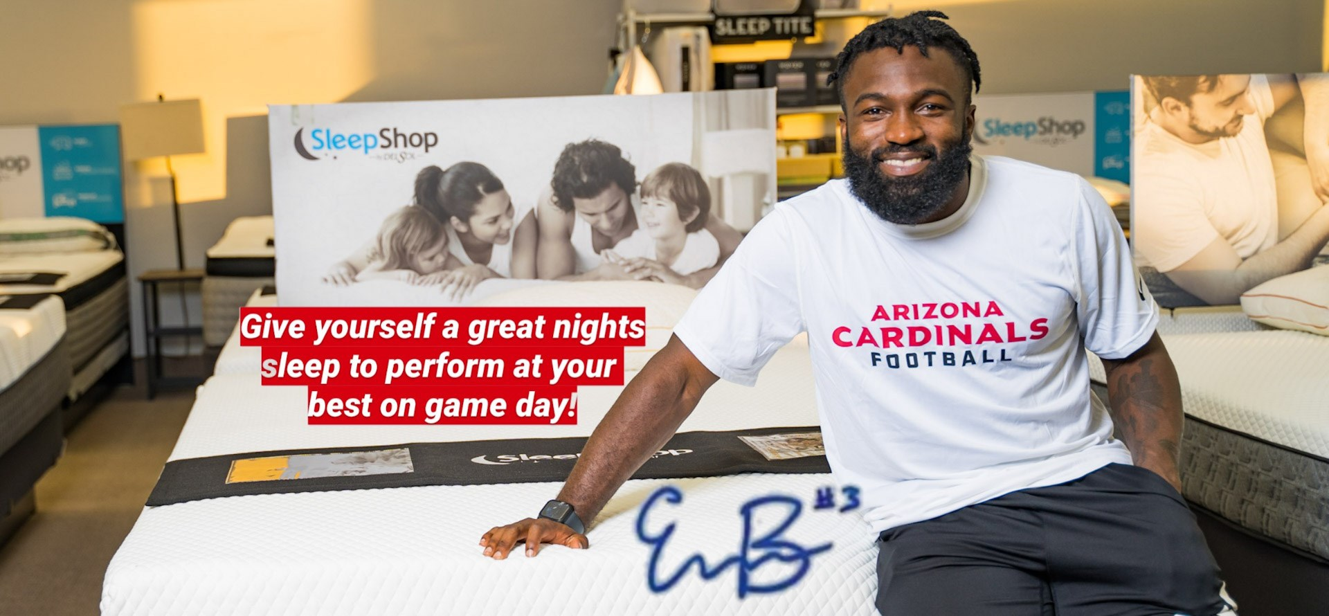 Eno Benjamin loves the Arizona Bed