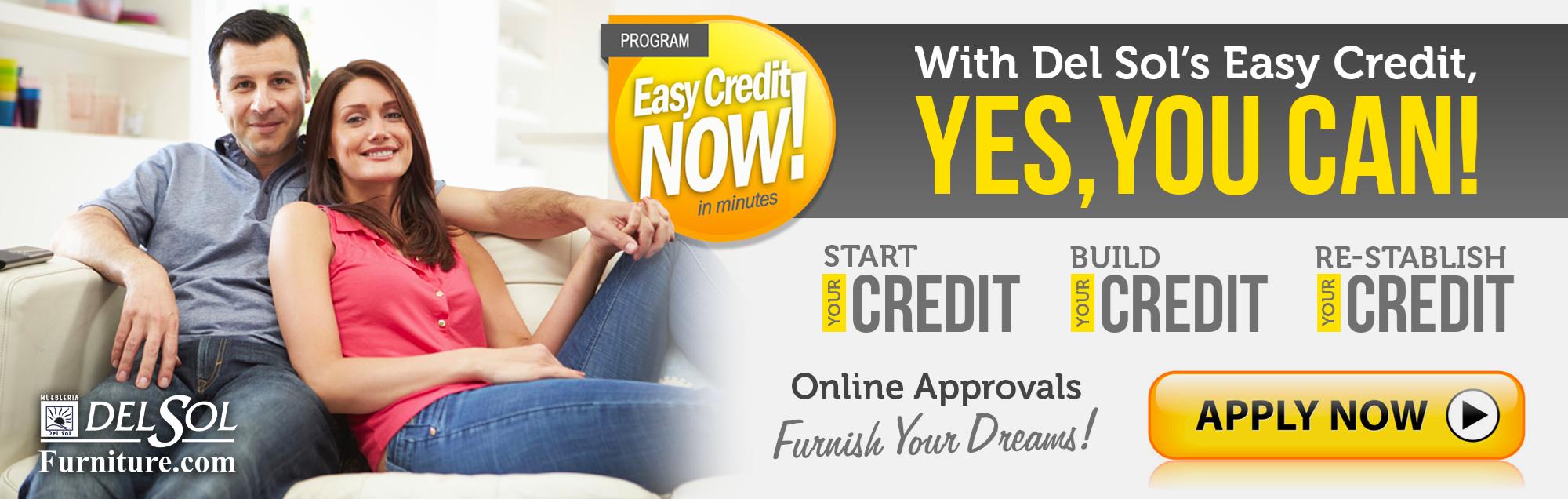 Easy Credit Furniture Financing Del