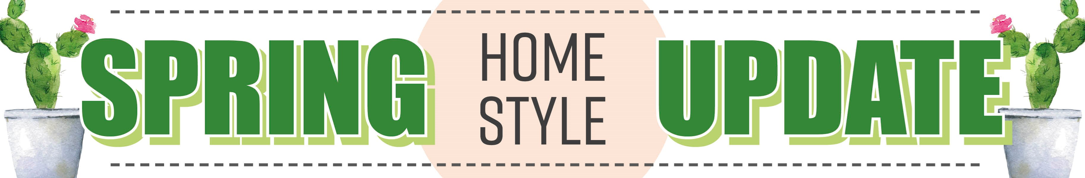 Spring Home Style Update