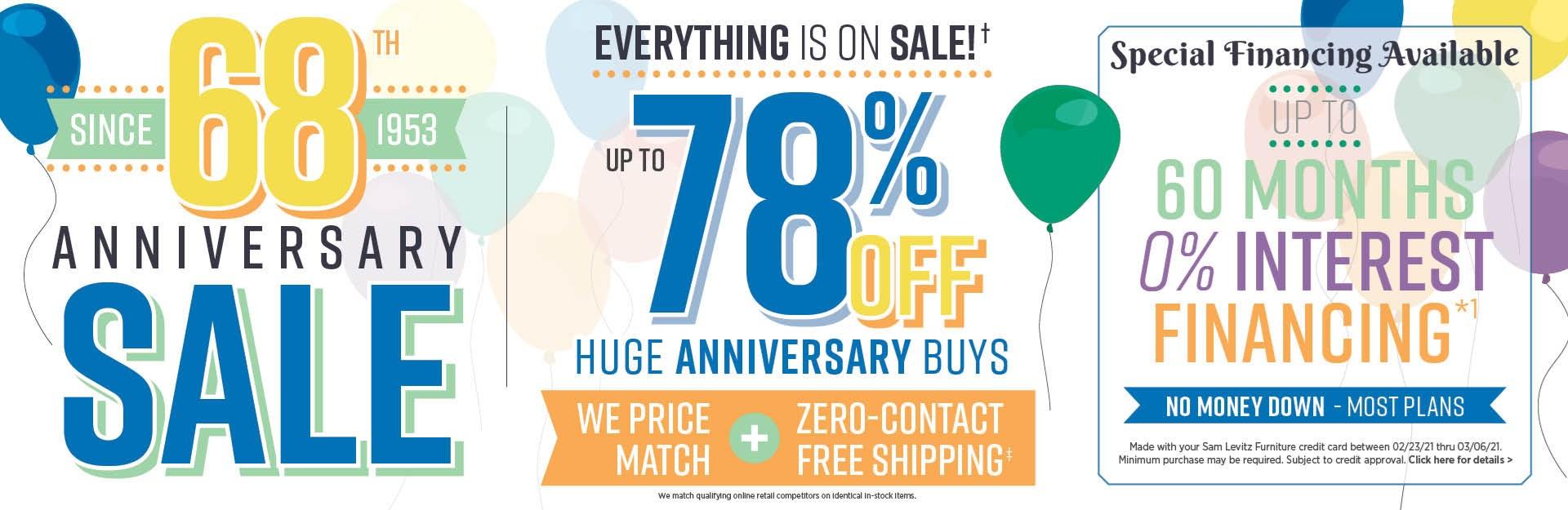 68th-anniversary-sale