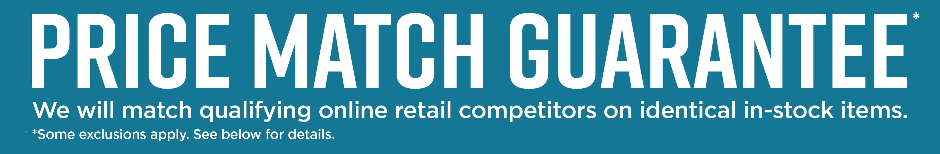 Price Match header