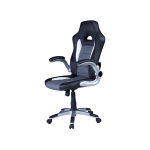 black and blue desk chair