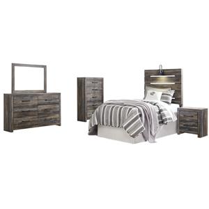 kids wooden bedroom set