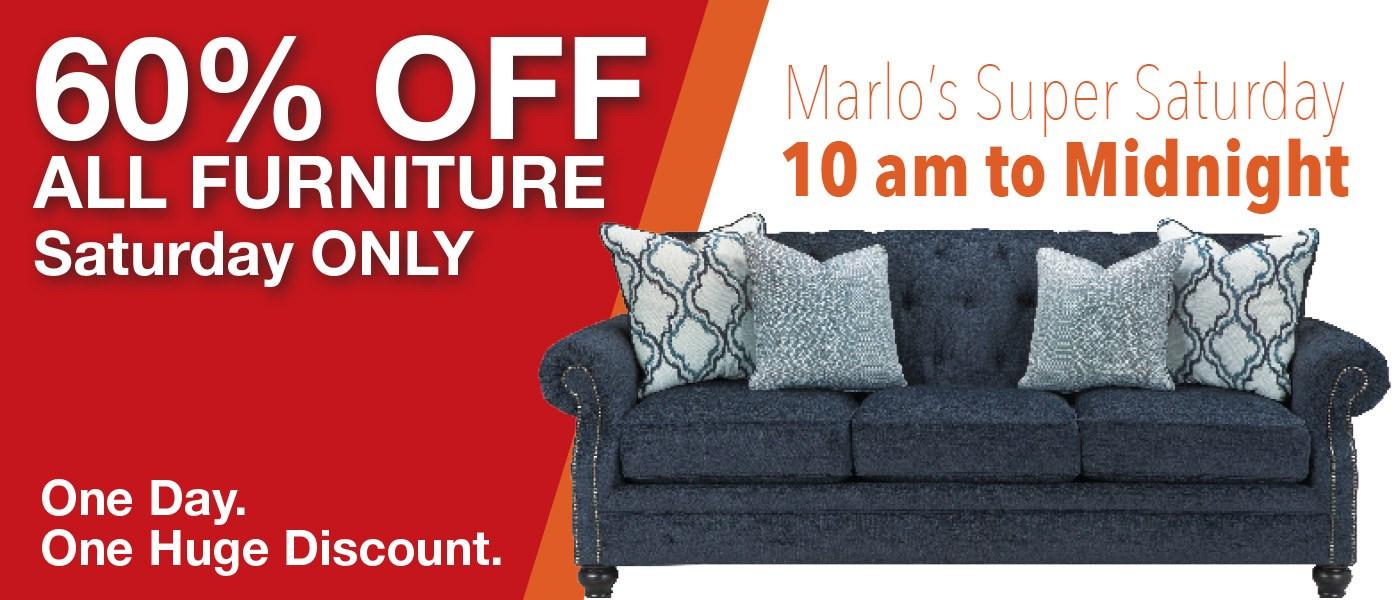 Marlo's Super Saturday Sale