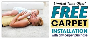 free carpet installation limited time offer