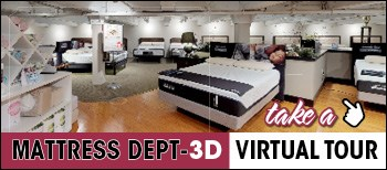 Take a 3D Virtual Tour of Rotmans Mattress Department