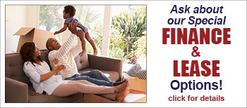 Ask about our special Finance and Lease options!