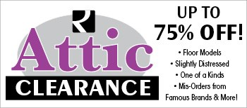 Attic Clearance Save up to 75% OFF!