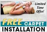 Free Carpet Install Offer
