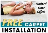 Free Carpet Install Offer