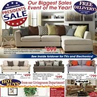 Presidents Sale Event!