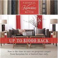 Save Up to $1000 on Karastan Carpet