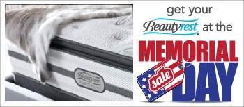 get your beautyrest memorial sale