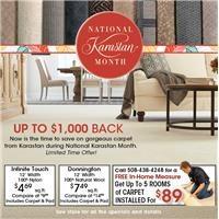 National Karastan Sale!