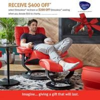 Stressless Chairity Event