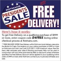 online code for free delivery
