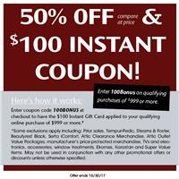 Details for Instant Coupon