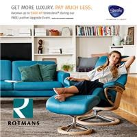 Stressless Free Leather Upgrade Event.